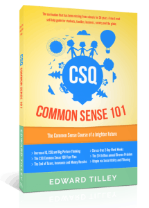 CSQ Common Sense 101 eBook for Sale