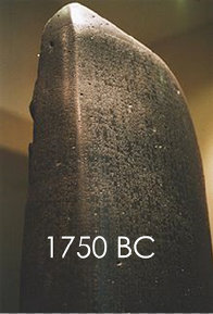 The Code of Hammurabi Stone