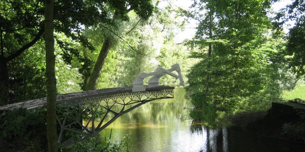 Self building Bridge