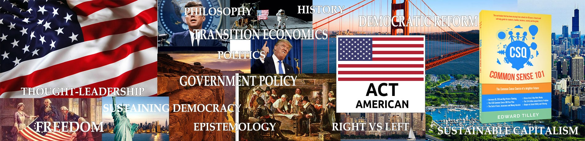 ACT American - ACTusa - CSQ Research & Worthwhile Industries
