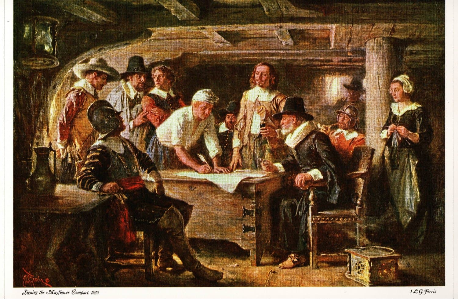 the history of the mayflower compact The mayflower compact continued the idea of law made by and for the people the mayflower society history of the mayflower pilgrims the mayflower society.